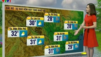 Dự báo thời tiết VTV 26/4: Bắc Bộ có dông, Nam Bộ nguy cơ xảy ra mưa đá