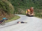 Phượt thủ người nước ngoài bị xe tải cán tử vong