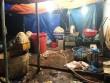 """Hãi hùng phát hiện hàng trăm kg bắp chuối bào ngâm """"chất độc"""" ở Sài Gòn"""