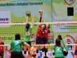"""Bóng chuyền VTV Cup: CLB Trung Quốc """"vùi dập"""" chân dài Kazakhstan"""