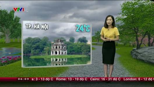 Dự báo thời tiết VTV 27/4: Bắc Bộ mưa diện rộng, đề phòng mưa đá