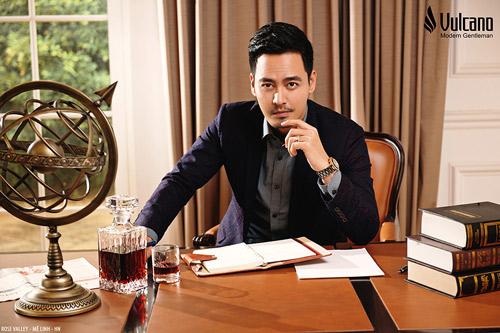 Phan Anh nam tính, lịch lãm với hình ảnh đại sứ thương hiệu VULCANO - 1