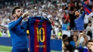 """Messi lại tỏa sáng, CĐV Barca """"phơi áo"""" chọc tức Real"""