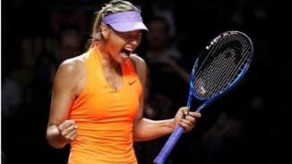 """Thắng trận tái xuất, Sharapova vẫn bị gọi là """"kẻ lừa dối"""""""