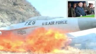 Triều Tiên tung video phá nổ máy bay tiêm kích Mỹ