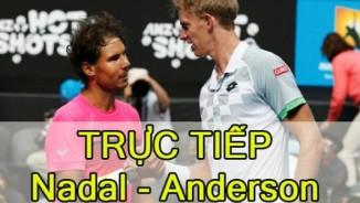 """TRỰC TIẾP tennis Nadal – Anderson: """"Bò tót"""" khó cản"""
