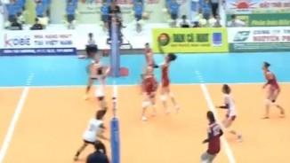 """Bóng chuyền VTV Cup: """"Nghẹt thở"""" vì Kim Huệ và đồng đội"""
