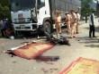 Hai thanh niên chết thảm dưới bánh xe tải ở Hòa Bình