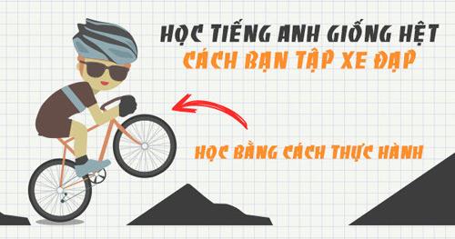 Học tiếng Anh giao tiếp bằng phương pháp đi xe đạp cho người mới bắt đầu - 2