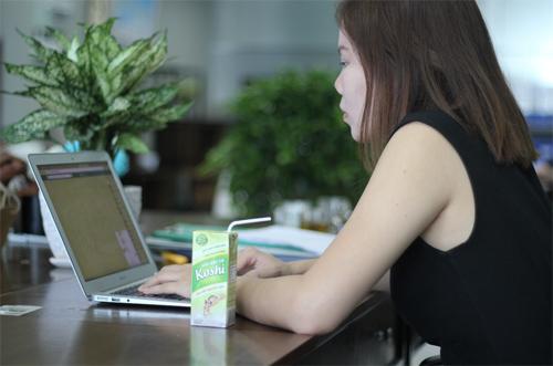 Sữa gạo lứt gây sốt hè 2017 - 4