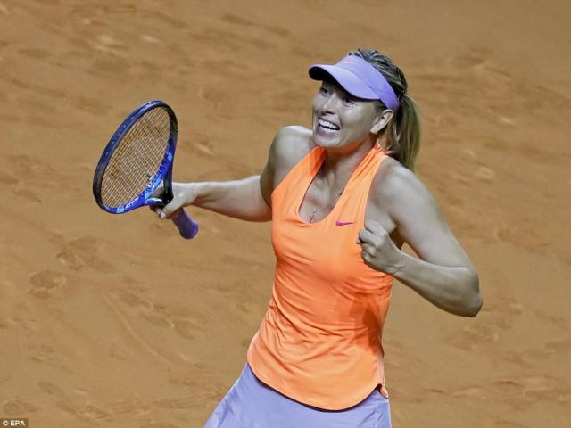 "Sharapova không cần ""đi cửa hậu"" dự Roland Garros, Wimbledon"