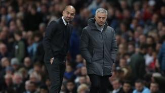 Cảm xúc Pep - Mourinho: Người mừng hụt, kẻ nấc cụt