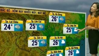 Dự báo thời tiết VTV 28/4: Bắc Bộ mưa rét, có nơi 18 độ