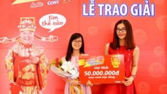 """Khách hàng đầu tiên trúng 50.000.000 đồng khi """"Mua bánh Kinh Đô, tiền vô ào ào"""""""