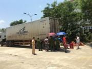 Tin tức trong ngày - Container tông chết người ở Phú Thọ đã bị bắt ở Quảng Nam