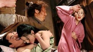 Cảnh Phan Kim Liên ngoại tình bị bắt quả tang gây căm phẫn