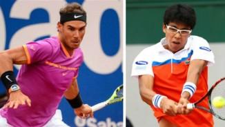 """TRỰC TIẾP Nadal - Hyeon Chung: Set 1 """"khổ chiến"""""""
