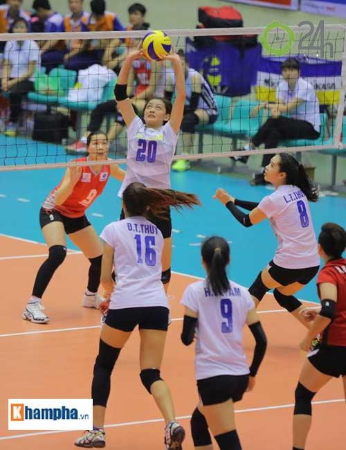 Dàn chân dài trẻ, giỏi, lại còn xinh ở ĐT bóng chuyền nữ U23 VN - 10