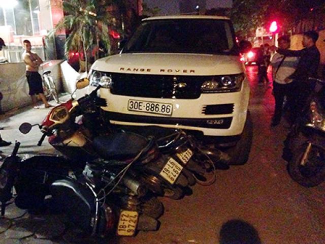 Liều lĩnh cướp xe tiền tỉ rồi gây tai nạn liên hoàn trên phố Hà Nội