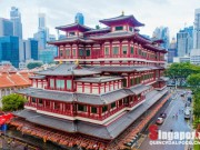 Choáng ngợp ngôi chùa 75 triệu USD lộng lẫy giữa quốc đảo Singapore