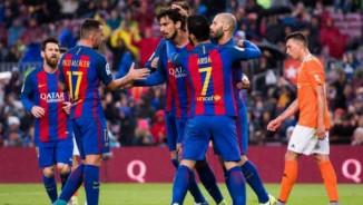 """Barca 6 mùa Liga ghi 100 bàn: Thói quen """"hủy diệt"""""""