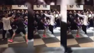 Khinh MMA, võ sư Trung Quốc bị đánh bầm dập mặt mũi