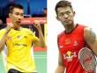 """Cầu lông châu Á: Lee Chong Wei """"đòi nợ"""" Lin Dan"""