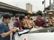 Tài xế ma cô gặp CSGT cứng ở Hà Nội