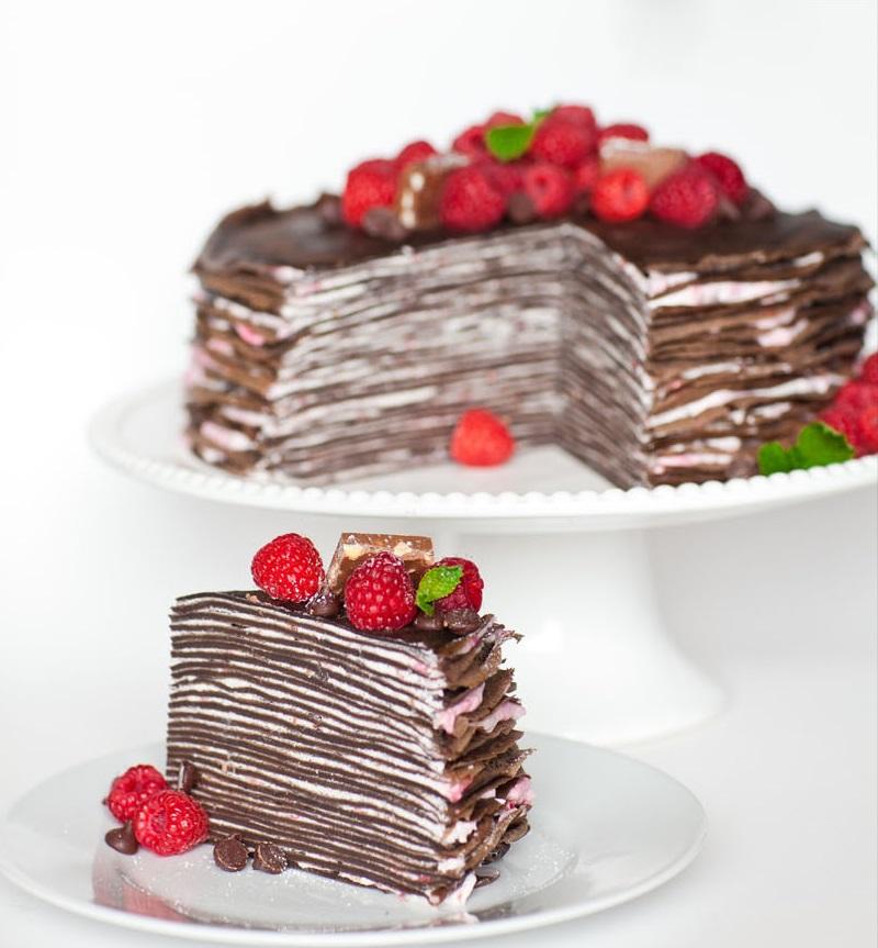 Bánh chocolate nghìn lớp đã ăn là không thể ngừng - 1