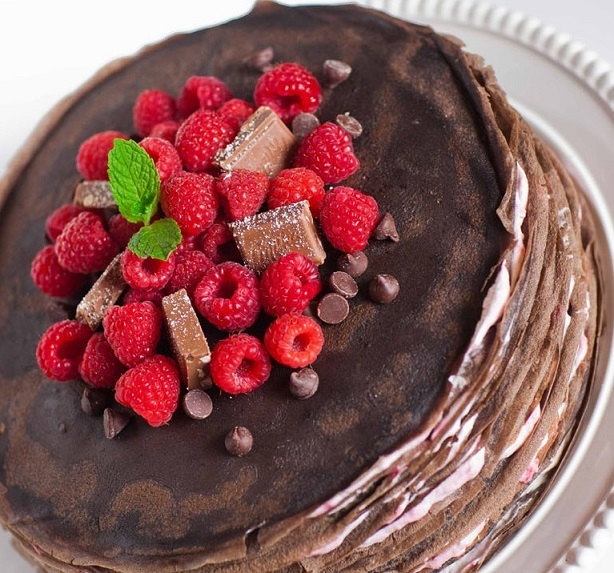 Bánh chocolate nghìn lớp đã ăn là không thể ngừng - 2