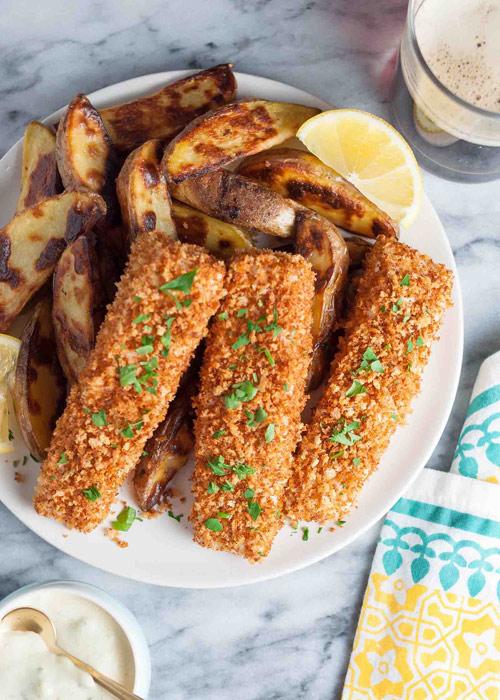 Ngon bất ngờ, cá vược nên duyên cùng khoai tây - 6