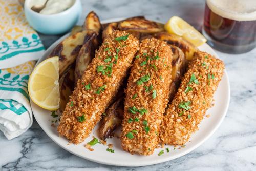Ngon bất ngờ, cá vược nên duyên cùng khoai tây - 7