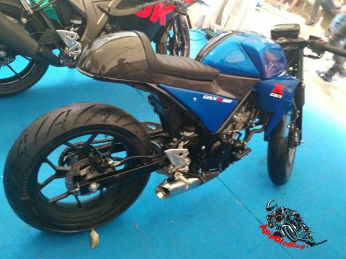 Suzuki GSX-R150 độ café racer cuốn hút dân chơi - 2