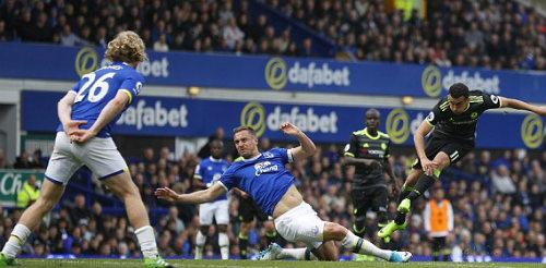 Everton - Chelsea: Cú nã đại bác thần thánh - 1