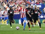 Las Palmas - Atletico: Thẻ đỏ và đại tiệc 5 bàn thắng