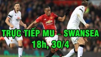 TRỰC TIẾP bóng đá MU - Swansea: Rooney đá chính
