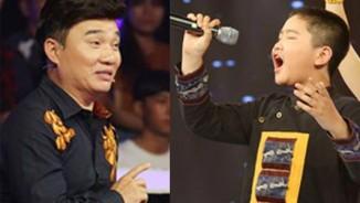 Quang Linh chê cậu bé 12 tuổi hát như người lớn