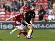 Bóng đá - Middlesbrough – Man City: Hú vía với kẻ đường cùng