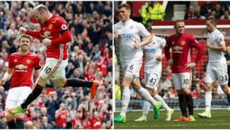 """Góc chiến thuật MU - Swansea: """"Canh bạc"""" Rooney bất thành"""