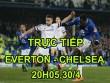 "TRỰC TIẾP Everton - Chelsea: Diego Costa ""đọ súng"" Lukaku"