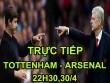 TRỰC TIẾP bóng đá Tottenham - Arsenal: Giroud đá cắm