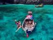 """""""Điêu đứng"""" trước vẻ đẹp của thiên đường biển xanh Koh Phi Phi"""