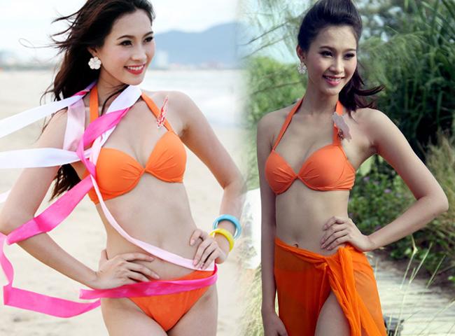 Hoa hậu Thu Thảo tung ảnh áo tắm hiếm hoi kỳ nghỉ lễ - 8