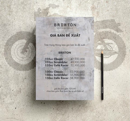 Bất ngờ Brixton BX bán ở Việt Nam chỉ từ 47,9 triệu đồng - 2