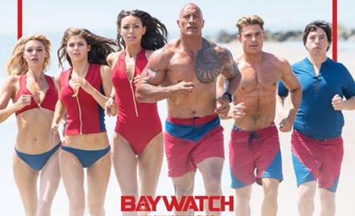 """Khán giả bỏng mắt vì biniki và The Rock trong """"Baywatch"""" - 6"""