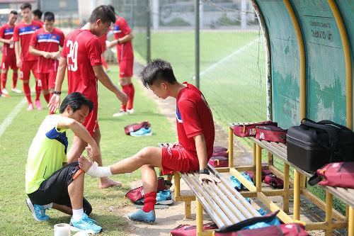 Cầu thủ khoẻ nhất U20 Việt Nam đầu hàng bài tập thể lực - 3