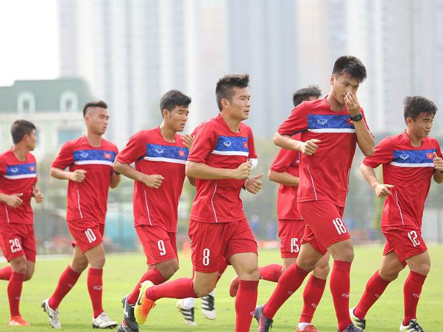 Cầu thủ khoẻ nhất U20 Việt Nam đầu hàng bài tập thể lực