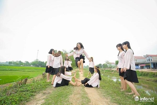 """Bộ ảnh kỷ yếu """"cực nhắng"""" của học sinh Bắc Giang - 4"""