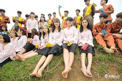 """Bộ ảnh kỷ yếu """"cực nhắng"""" của học sinh Bắc Giang - 5"""