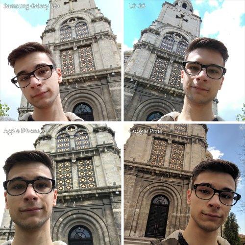 Đọ camera selfie trên Galaxy S8 +, LG G6, iPhone 7 và Google Pixel - 2